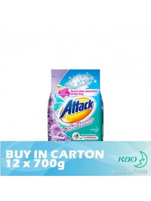 Attack Powder Detergent Plus Softener Floral Romance (ATSV) 12 x 700g