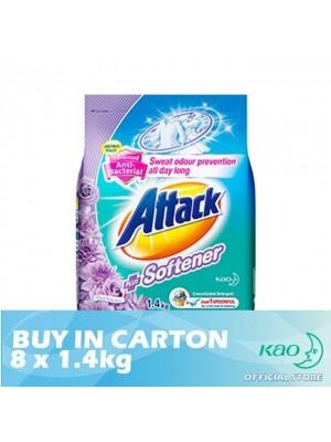 Attack Powder Detergent Plus Softener Floral Romance (ATSV) 8 x 1.4kg