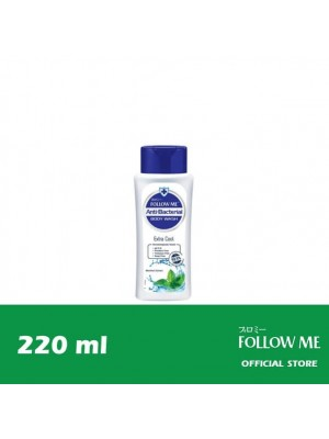 Follow Me Anti-Bacterial Body Wash - Extra Cool 220ml