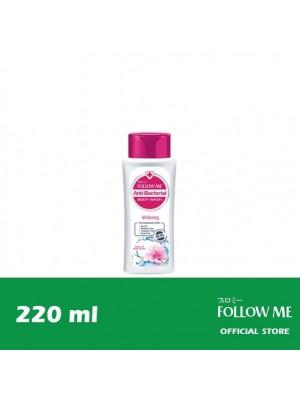 Follow Me Anti-Bacterial Body Wash - Whitening 220ml
