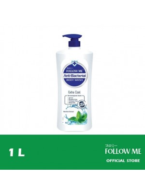 Follow Me Anti-Bacterial Body Wash - Extra Cool 1L