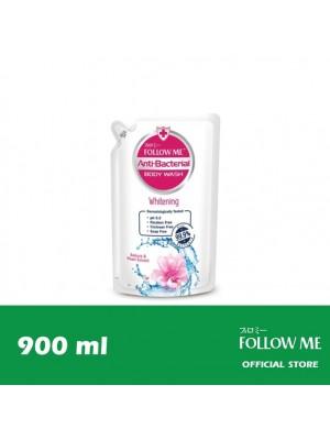 Follow Me Anti-Bacterial Body Wash Refill - Whitening 900ml