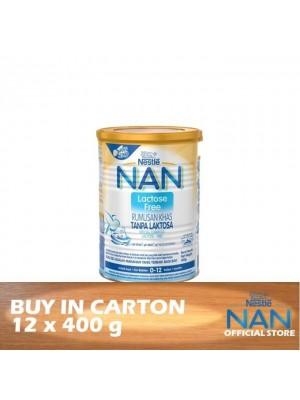 Nestle Nan Lactose Free 12 x 400g