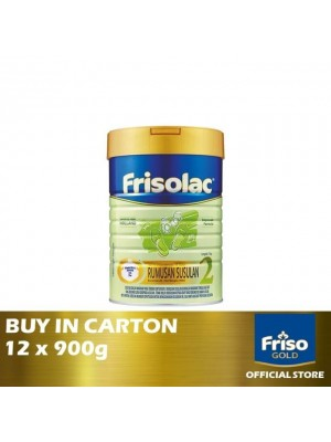 Frisolac Step 2 Rumusan Susulan 12 x 900g