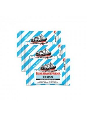 Fisherman's Friend Sugar Free Original 3x25g(21 Lozenges)