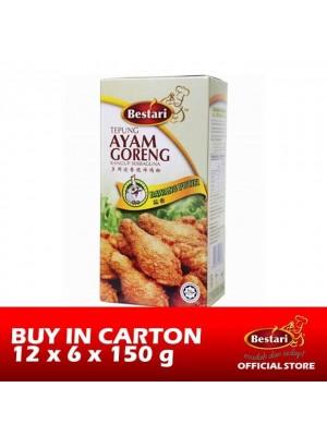 Bestari Fried Chicken Coating - Garlic 12 x 6 x 150g [Essential]