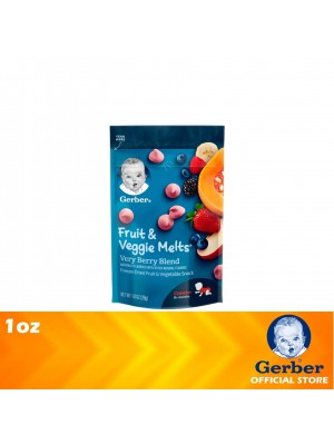 Gerber Fruit & Veggie Melts Very Berry Blend 1oz