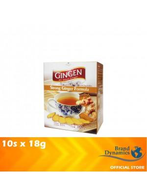 Gingen Ginger Drink Instant Ginger Strong Formula 10s x 18g