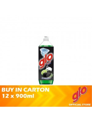 Glo Active Foam Lime Charcoal Dishwashing Liquid 12 x 900ml