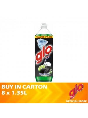 Glo Active Foam Lime Charcoal Dishwashing Liquid 8 x 1.35L