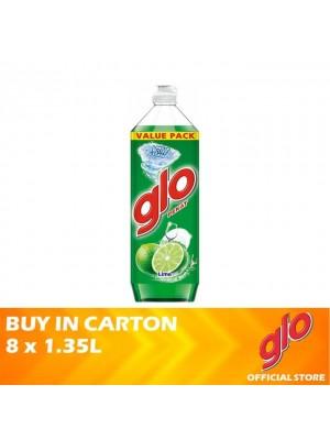 Glo Active Foam Lime Dishwashing Liquid 8 x 1.35L