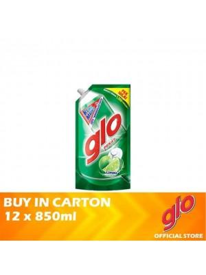 Glo Lime Dishwashing Liquid Refill 12 x 850ml