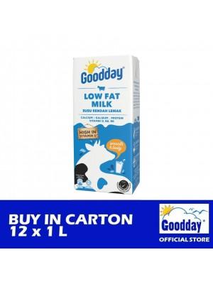 Goodday UHT Low Fat Milk Tetra 12 x 1L