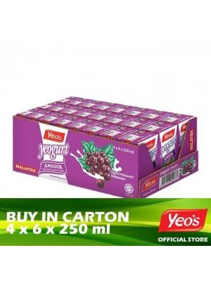 Yeo's Yeogurt Grape 4 x 6 x 250ml