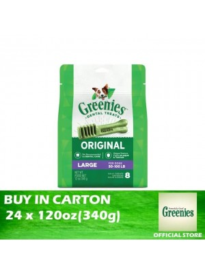 Greenies Treat Pak Canine Large 24 x 120z(340g)