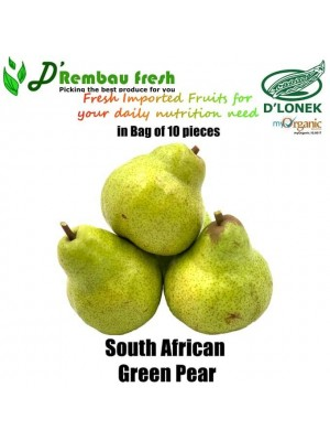 Imported South Africa Green Pear