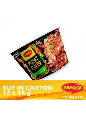 Maggi Pedas Giler Grilled Chicken 12 x 98g