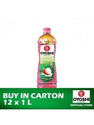 Oyoshi Green Tea Lychee 12 x 1L