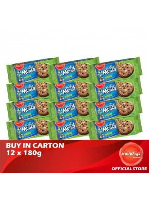 Munchy's Captain Munch Chocolate Chip Hazelnut 12x180g