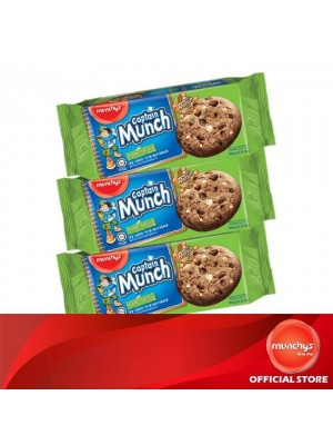 Munchy's Captain Munch Chocolate Chip Hazelnut 3x180g
