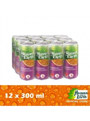 Heaven & Earth Ice Passion Fruit 12 x 300ml [Essential]