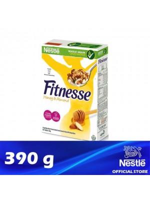 Nestle Fitnesse Honey & Almond Breakfast Cereal 390g