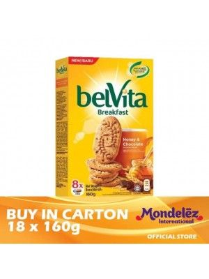 Belvita Honey & Chocolate 18 x 160g