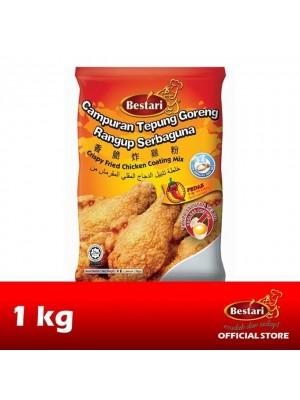 Bestari Fried Chicken Coating - Hot & Spicy 1kg
