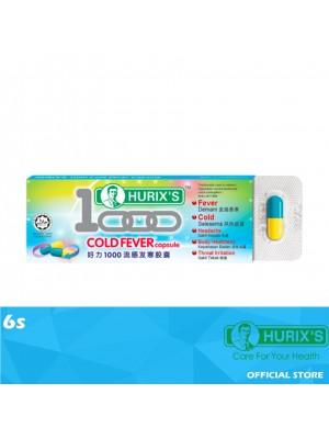 Hurix's 1000 Cold Fever Capsule 6s