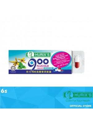 Hurix's 900 FluCold Capsule Improved 6s