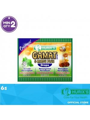 Hurix's Gamat Brand & Madu Plus Drops Original 6s
