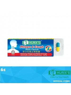 Hurix's Phlegm & Cough Herbs Capsule 6s