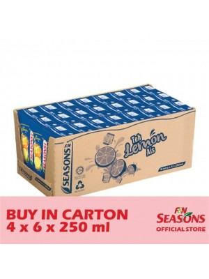 F&N Seasons Ice Lemon Tea 4 x 6 x 250ml