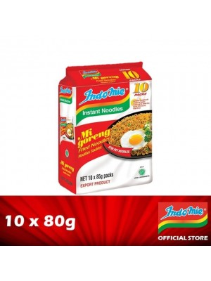 Indomie Goreng Asli Value Pack 10'S 10 x 80g