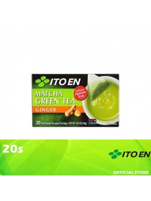 Ito En Matcha Green Tea Ginger 20s