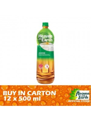 Heaven and Earth Jasmine Green Tea  PET 12 x 500ml