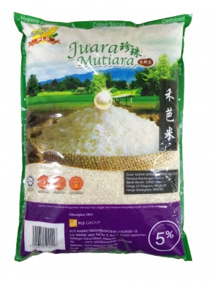 Sekinchan Juara Mutiara 5% Rice 10kg **Buy This Item Get 1000 Potboy Gold**