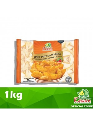Kawan Spicy Wedges  French Fries 1kg