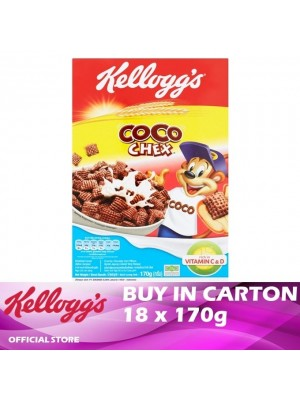 Kellogg's Coco Chex Breakfast Careal 18 x 170g