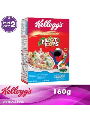 Kellogg's Froot Loops Breakfast Cereal 160g