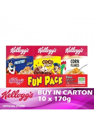 Kellogg's Fun Pack 10 x 170g