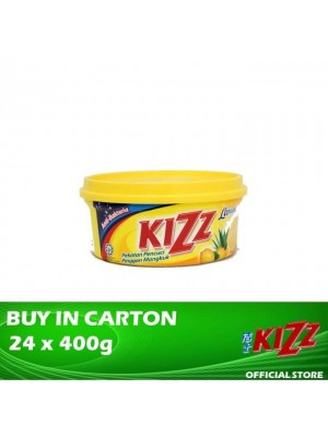 Kizz Dishwashing Paste (Lemon) 24 x 400g