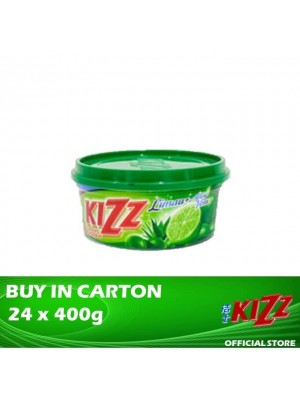Kizz Dishwashing Paste (Lime) 24 x 400g