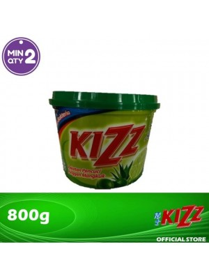 Kizz Dishwashing Paste (Lime) 800g