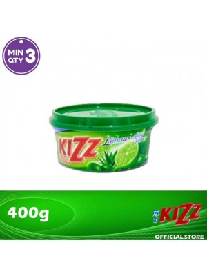 Kizz Dishwashing Paste (Lime) 400g