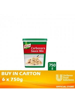 Knorr Carbonara Sauce Mix 6x750g