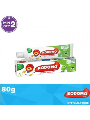 Kodomo Lion Toothpaste Apple Flavour 80g