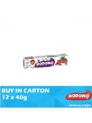 Kodomo Lion Toothpaste Grape Flavour 12 x 40g