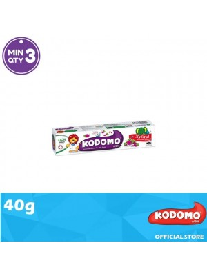 Kodomo Lion Toothpaste Grape Flavour 40g
