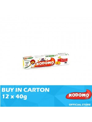 Kodomo Lion Toothpaste Orange Flavour 12 x 40g